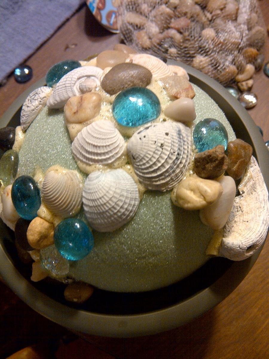 Seashell crafts wonderful creations for Big seashell crafts