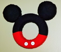 Mickey Mouse Inspired Wreath