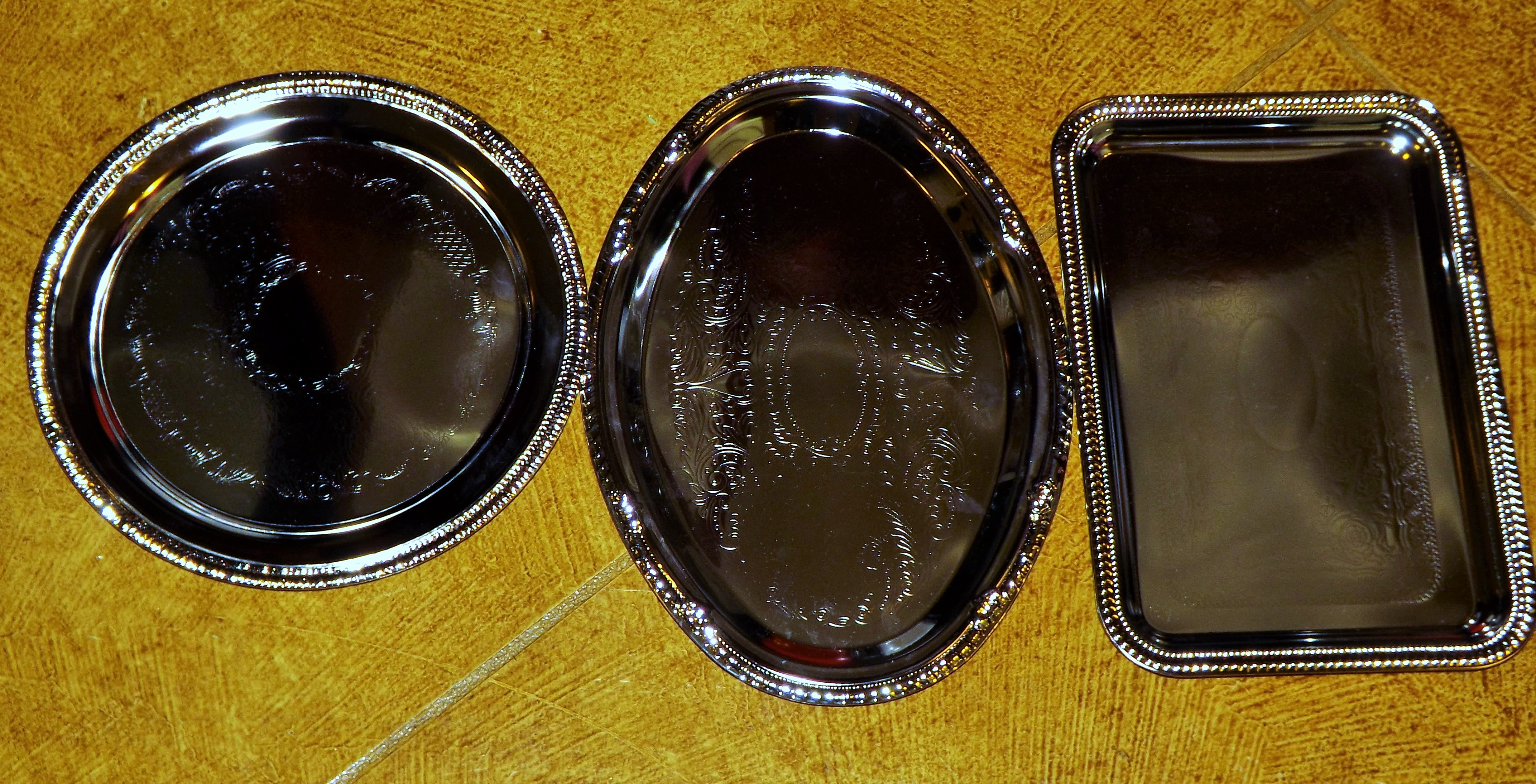 Charger Plate And Metal Tray Crafts Wonderful Creations Blog