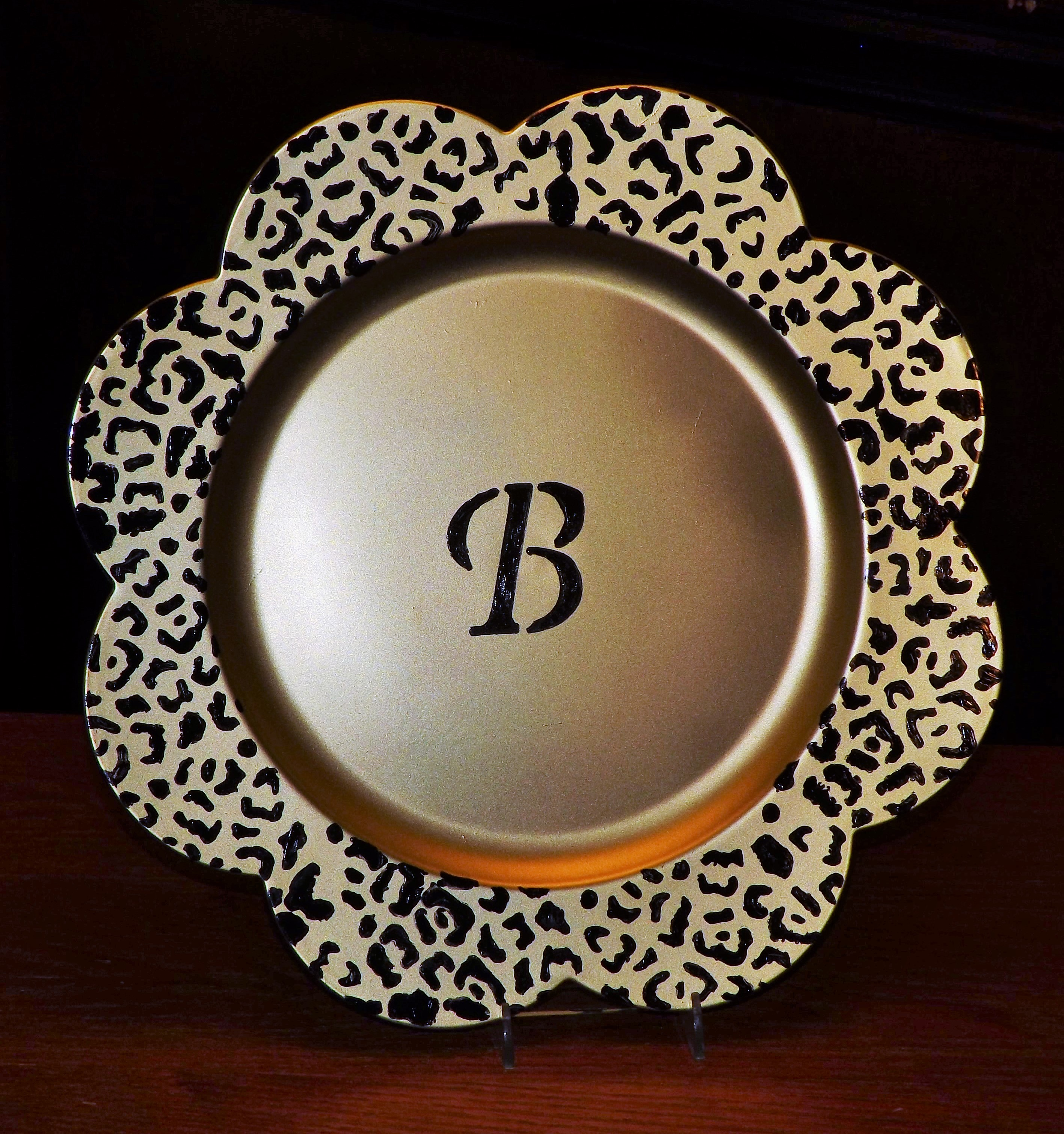 Dollar Tree Charger Plates