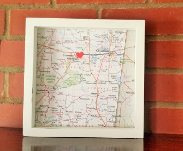 Map Shadow Box