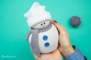 Sock Snow Man