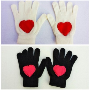 Heart Gloves 2
