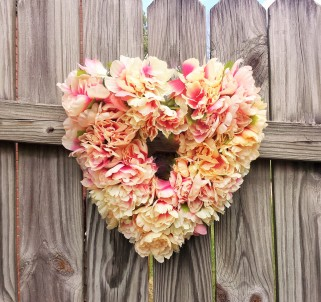 Floral Heart Wreath