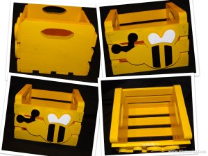 Bumble Bee Crate