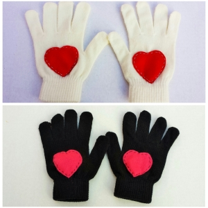 Heart Gloves