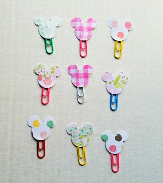 Mickey Paper Clips