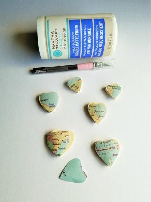 Wood Hearts 2