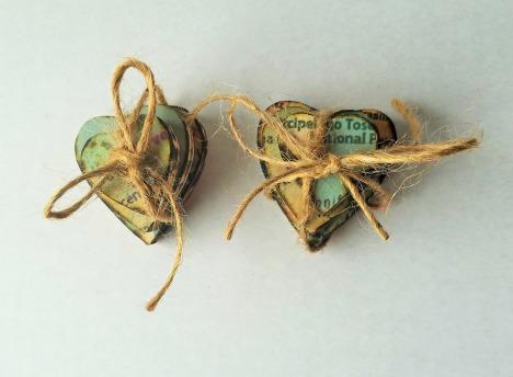 Wood Hearts 8