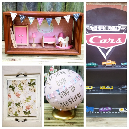 Thrift store crafts