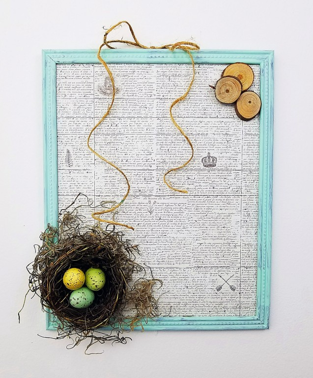 Birds Nest Frame 2